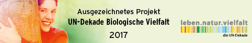 Project award for achievements in promoting biodiversity